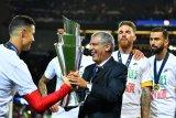 Cristiano Ronaldo bersuka cita