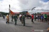 Helikopter pemuat bantuan tiba di Konawe Utara