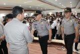 Kapolda Sulut ingatkan personel tetap semangat dalam bertugas