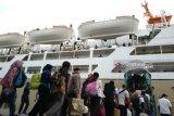 Arus balik Lebaran di Pelabuhan Makassar capai 454 ribu jiwa