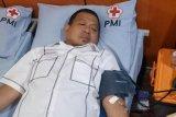 Pejabat Wali Kota Makassar donor darah di halal bi halal Dishub