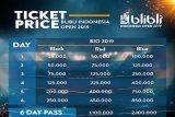 BWF keluarkan drawing pertandingan Indonesia Open 2019