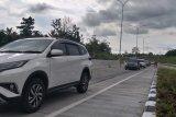 12.596 Kendaraan lintasi tol Manado-Bitung fungsional Lebaran