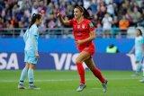 Alex Morgan bela selebrasi timnas AS usai kalahkan Thailand 13-0