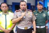Pengguna jalan tol Palembang-Lampung menurun saat arus balik