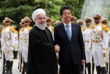 Jepang kirim kapal perang ke Timur Tengah