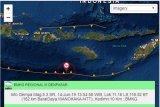 Gempa 5.3 SR guncang  Sumba Barat