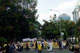 Aksi demo di MK tidak untuk mendukung paslon tertentu