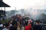 33 bangunan dan dua jembatan di Mangkahui ludes terbakar