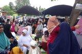 Ribuan warga muslim dari berbagai daerah hadiri haul Guru Tua di Palu