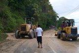 Sekprov  tinjau proyek pemeliharaan jalan di Banggai