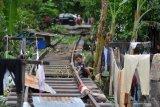 Pencurian komponen kereta api bahayakan masyarakat sepanjang rel
