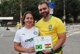 Permainan Brasil kecewakan penonton fanatik