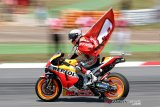 Marquez juara di Catalunya, Lorenzo sebabkan kecelakaan beruntun
