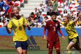 Swedia ke babak 16 besar setelah gilas Thailand 5-1