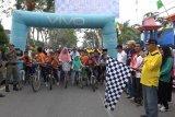 Milad Ke - 54 Inhil, Wakil Bupati melepas peserta Funbike