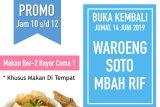 ACT Lampung gandeng warung soto galang donasi rumah tahfidz