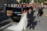 Ramos menikah, klaim pesta pernikahannya 'berbeda'