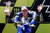 Finis podium MotoGP pertama kali, ini cerita Quartararo