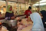 Harga komoditas pangan di pasar Pekalongan berangsur turun