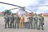 Kodam XIV/Hasanuddin Kirim Helikopter Tangani Banjir Konawe Utara