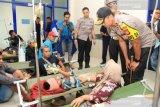 Penyebab kecelakan di Cipali akibat sopir diserang oleh seorang penumpang