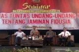 Minimalisasi permasalahan hukum, Polres Banyumas sosialisasikan UU Jaminan Fidusia