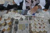 Ratusan calon siswa baru SMKN 8 Palembang ikuti tes urine