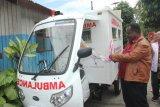 Bupati Asmat resmikan operasionalisasi ambulans Puskesmas Atsy