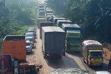 Jalintim Mesuji Lampung- Mesuji OKI Sumsel masih macet total