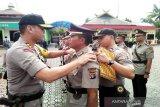 Enam perwira Polres Barito Utara dimutasi
