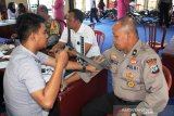 Polres Solok Arosuka gelar donor darah peringati HUT Bhayangkara 73