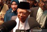 Ma'ruf Amin minta ulama mengarusutamakan Islam moderat