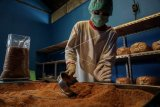 Produksi gula kelapa