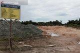 Ruas jalan nasional di wilayah Ibu Kota  baru masih rusak