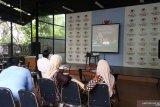 Suasana nonton bareng sidang MK para relawan Prabowo-Sandi
