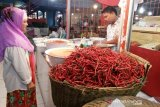 Harga cabai di Pasar Raya Padang makin