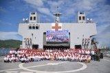 TNI AL gelar PPKM di KRI dr Soeharso