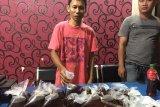 Puluhan liter miras jenis arak kampel berhasil disita petugas