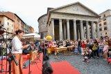 KBRI Roma menggelar pertunjukan musik Indonesia  di  Pantheon Roma