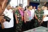 Panglima TNI dan Kapolri tinjau penanganan bencana di Konawe Utara