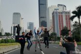 Patung Jenderal Sudirman jadi objek swafoto