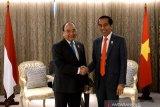 Presiden Joko Widodo dorong penyelesaian batas ZEE Indonesia-Vietnam