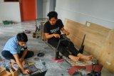 Tiga mahasiswa Unand ciptakan prototipe kendaraan kelebihan muatan