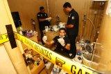 Polisi bongkar pabrik pembuat sabu dengan bahan obat sesak nafas