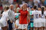 AS ke perempat final piala dunia putri berkat dua gol Megan Rapinoe