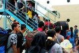 Penumpang arus mudik dan balik Lebaran di Pelabuhan Sampit meningkat