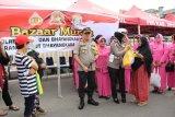 HUT ke-73 Bhayangkara, Polres Inhil gelar bazar murah