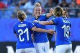 Italia lolos ke perempat final Piala Dunia Putri