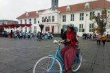 Kunjungan wisatawan di kawasan Kota Tua, Jakarta Barat tembus satu juta pengunjung